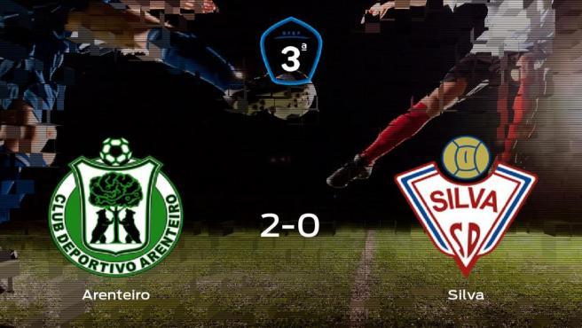 El Arenteiro suma tres puntos a su casillero tras ganar al Silva SD (2-0)