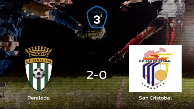 El CF Peralada suma tres puntos a su casillero tras ganar al CP San Cristobal (2-0)