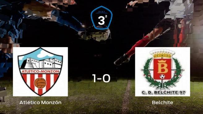 El Atlético Monzón consigue los tres puntos frente al Belchite (1-0)
