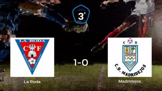La Roda vence 1-0 al Madridejos en el Municipal de La Roda