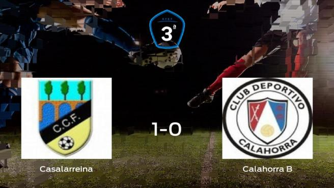 El Casalarreina derrota 1-0 al CD Calahorra B y se lleva los tres puntos