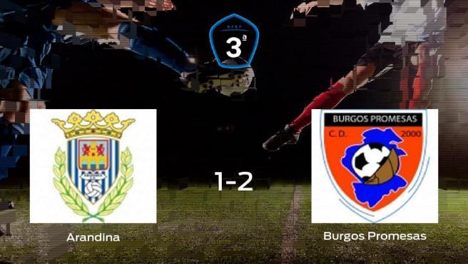 El Burgos Promesas se impone a la Arandina y consigue los tres puntos (1-2)