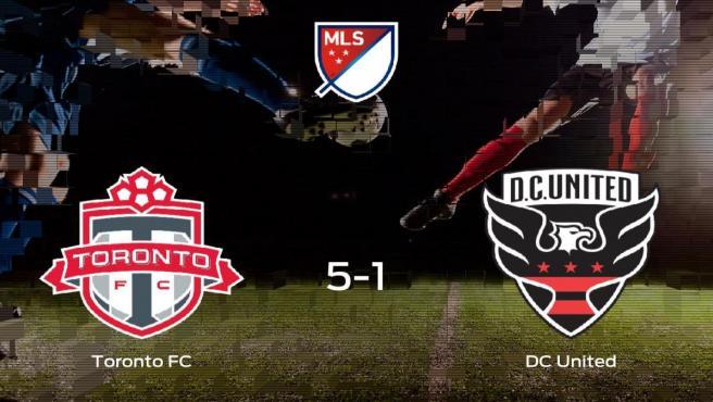 El Toronto FC pasa a cuartos de final tras ganar el partido al DC United en la prórroga (5-1)