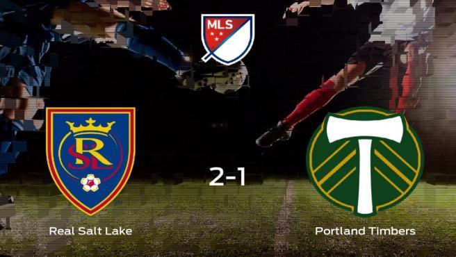 El Real Salt Lake deja sin los playoff de la Major League Soccer al Portland Timbers y pasa a cuartos de final (2-1)