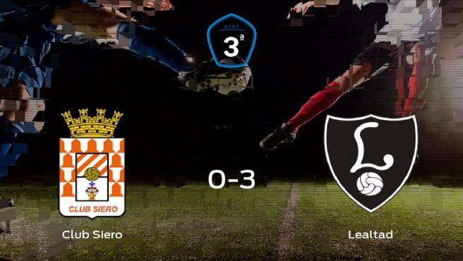 El Lealtad Villaviciosa muestra su poderío tras golear al Club Siero (0-3)