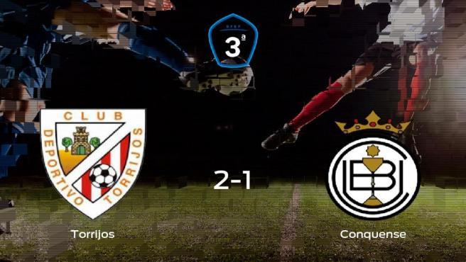 El Torrijos vence 2-1 al Conquense y se lleva los tres puntos