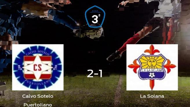 Los tres puntos se quedan en casa: Calvo Sotelo Puertollano 2-1 La Solana