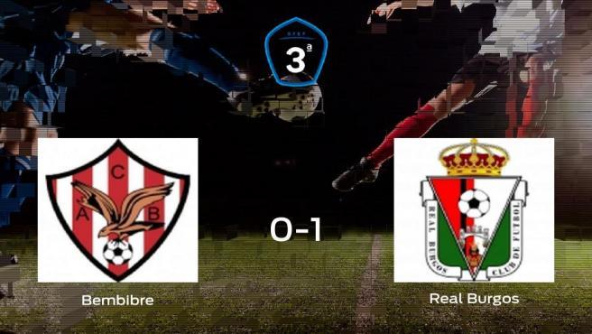 El Real Burgos CF se impone al Atl. Bembibre y consigue los tres puntos (0-1)
