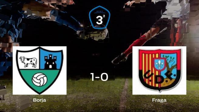 El Borja suma tres puntos más ante el Fraga (1-0)