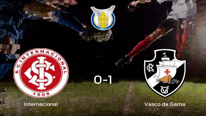 El Vasco da Gama gana 0-1 al Internacional y se lleva los tres puntos
