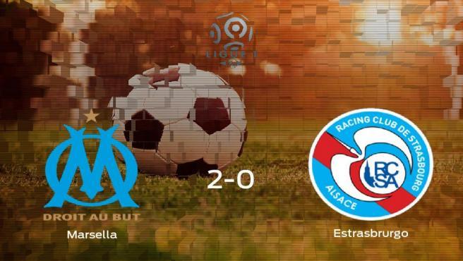 Los tres puntos se quedan en casa: Olympique de Marsella 2-0 Racing Estrasbrurgo