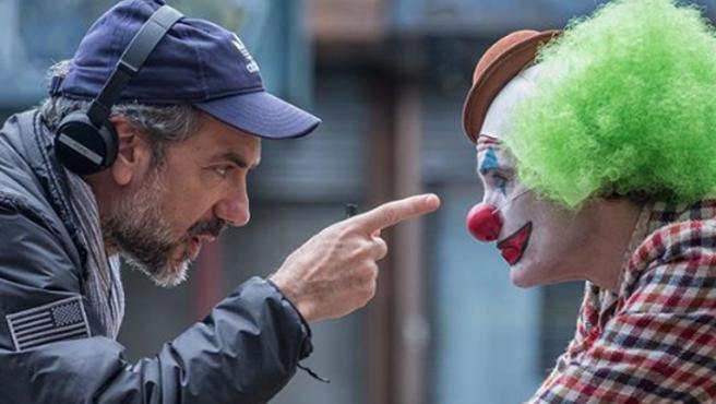 Todd Phillips comparte fotos detrás de las cámaras de 'Joker'