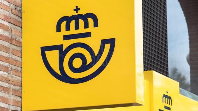 Imagen de archivo del logo de Correos.