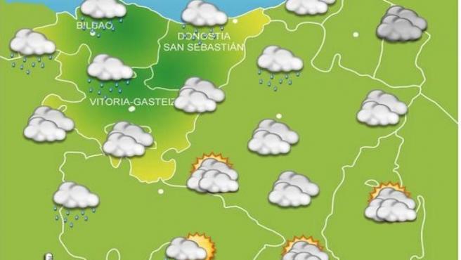 Previsiones meteorológicas para el 19 de octubre en Euskadi.