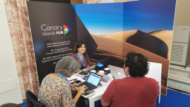 La Palma Film Commission asiste al mercado de cine y televisión MIA