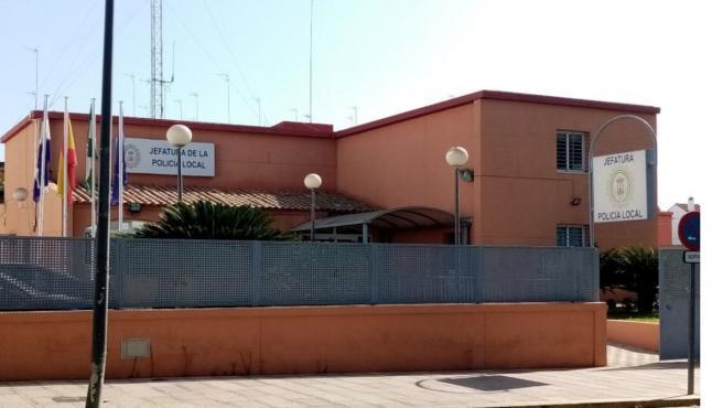 Fachada de la Jefatura de Policía Local de Alcalá de Guadaíra