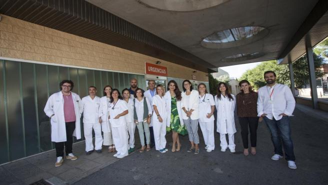Profesionales de la Fundación Hospital de Calahorra