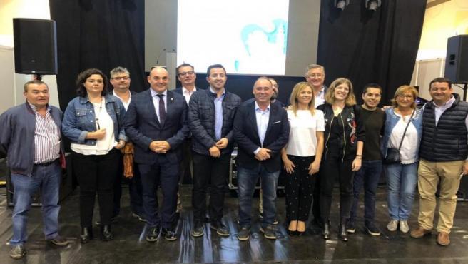 Representantes del PP el Alcorisa.