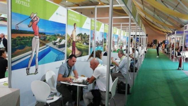 Uno de los expositores de la International Golf Travel Market (IGTM).