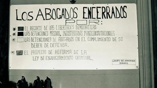 Fotograma de 'La defensa, por la libertad', que repasa el papel de los abogados en la Transición.