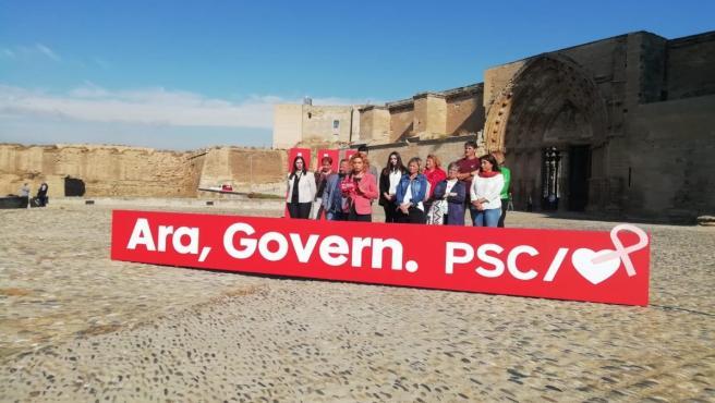 Meritxell Batet (PSC) en Lleida