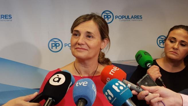 La vicesecretaria general del Partido Popular de la Comunitat Valenciana, Elena Bastidas,