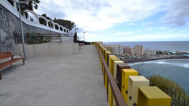 Paseo de la Costa de Puerto de la Cruz