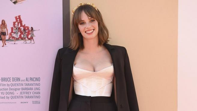 La actriz Maya Hawke, en un reciente evento en Hollywood.
