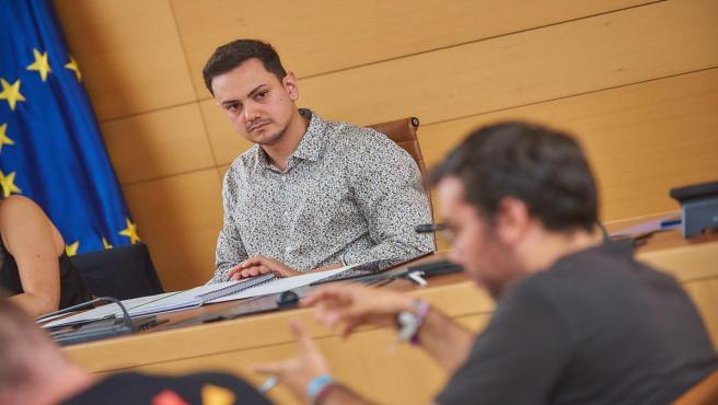 El consejero delegado del área de Diversidad y Participación Ciudadana del Cabildo de Tenerife, Nauzet Gugliotta