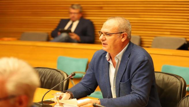 El diputado de Ciudadanos (Cs) en Les Corts valencianas Luis Arquillos