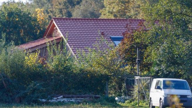 La granja en la que habían retenido a los seis niños.
