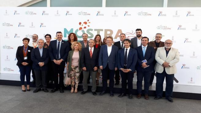Puig visita la Mostra de Turisme de la Comunitat Valenciana