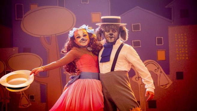 El musical La Dama y El Vagabundo.