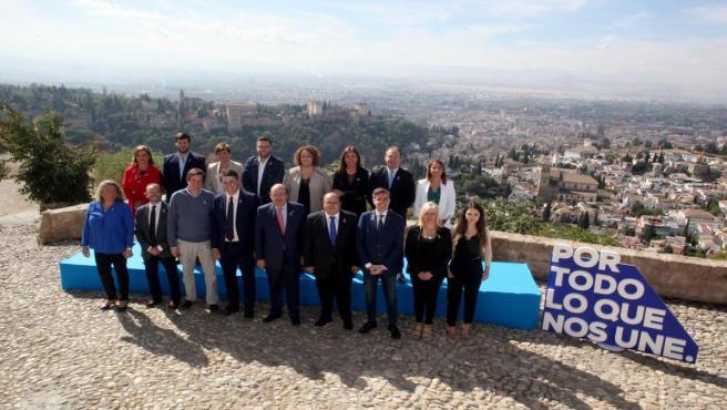 Candidatura del PP por Granada para el Congreso y Senado para el 10N