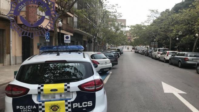 Imagen de archivo de un coche de la Policía Local de Castelló