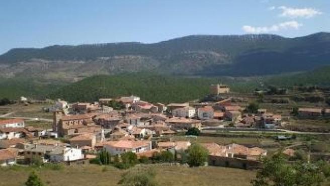 Panorámica de El Castellar (Teruel).