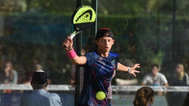 El toledano Andrés Fernández Lancha, campeón del Mundo de Pádel de Menores 2019
