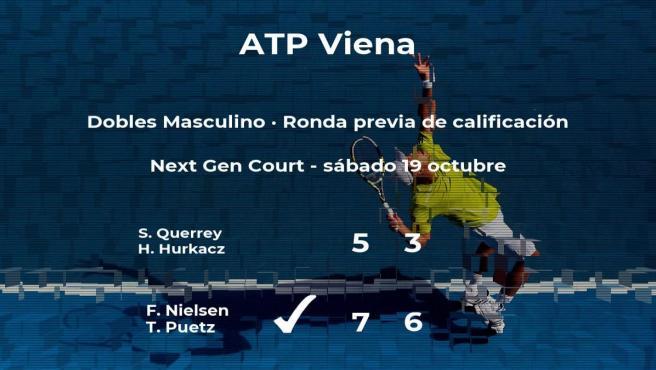 El tenista pasa a la siguiente fase del torneo ATP 500 de Viena