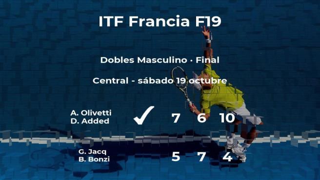 Olivetti y Added se convierten en los campeones del torneo de Rodez