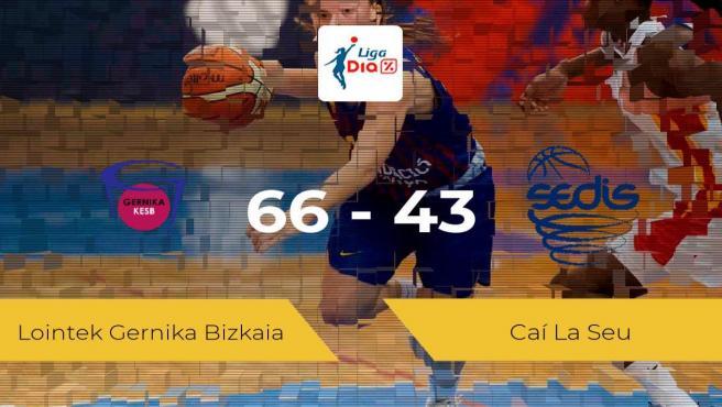 El Lointek Gernika Bizkaia derrota al Caí La Seu por 66-43