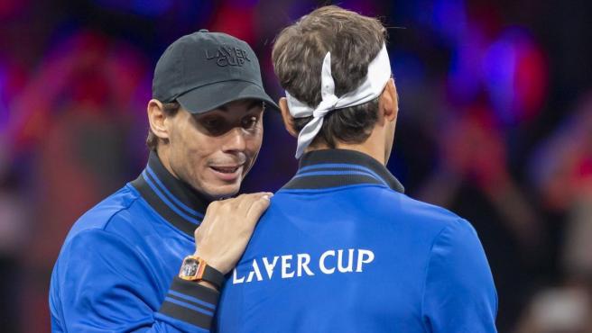 Rafael Nadal y Roger Federer.