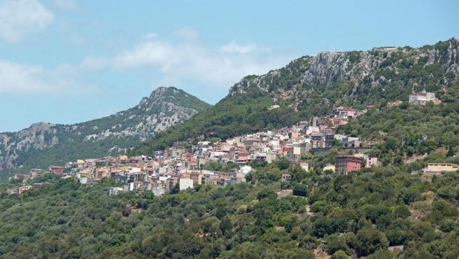 Imagen de la localidad de Baunei, en Cerdeña.