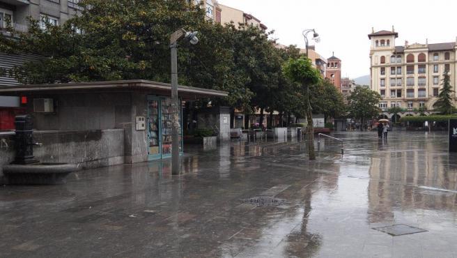 Lluvia en Euskadi
