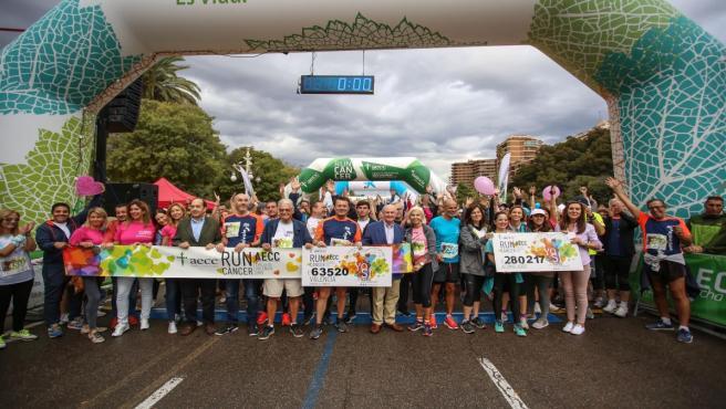 Evento deportivo 'València contra el Cáncer',