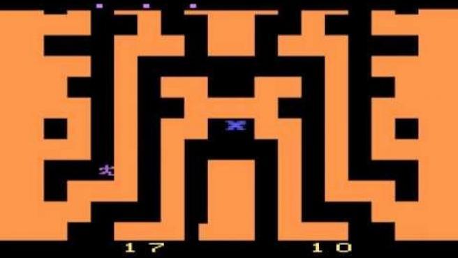 Captura de 'Entombed', el juego de Atari.