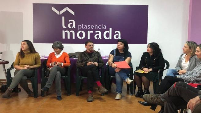 Botejara y Monedero, en el encuentro en Plasencia