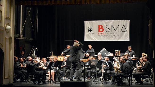 La Banda Sinfónica Municipal de Almería