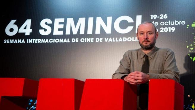 El director islandés Rúnar Rúnarsson en la 64 edición de la Seminci.