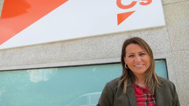 Beatriz Pino, cabeza de lista de Ciudadanos al Congreso por la provincia de Pontevedra, posa para una entrevista con Europa Press.