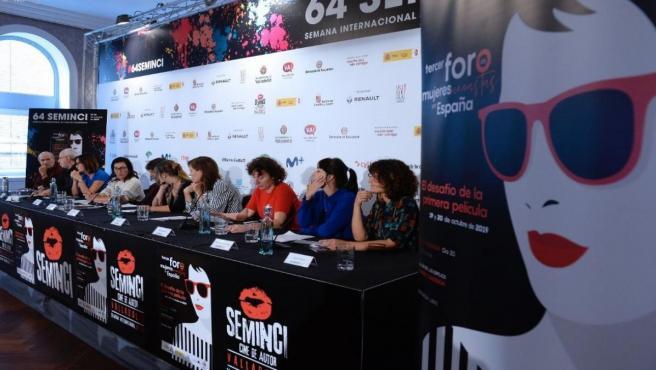 III Encuentro de mujeres cineastas en el marco de la 64 Seminci.